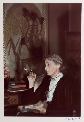 "Gisele Freund: ""virginia Woolf"""