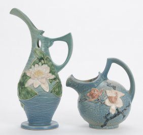 Roseville: Pottery Pitcher & Ewer