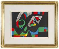 """JOAN MIRO: """"UNTITLED (FROM """"LE LEZARD AUX PLUMES D'OR"""")"""