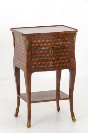 French Parquetry Commode
