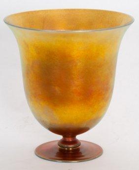 Steuben Aurene Vase