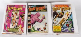 Collection Of Teen Titans Comic Books