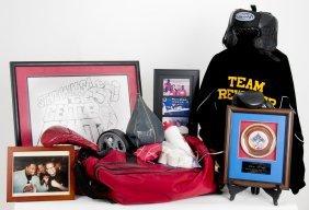 Lot Of Lamon Brewster Boxing Memorabilia