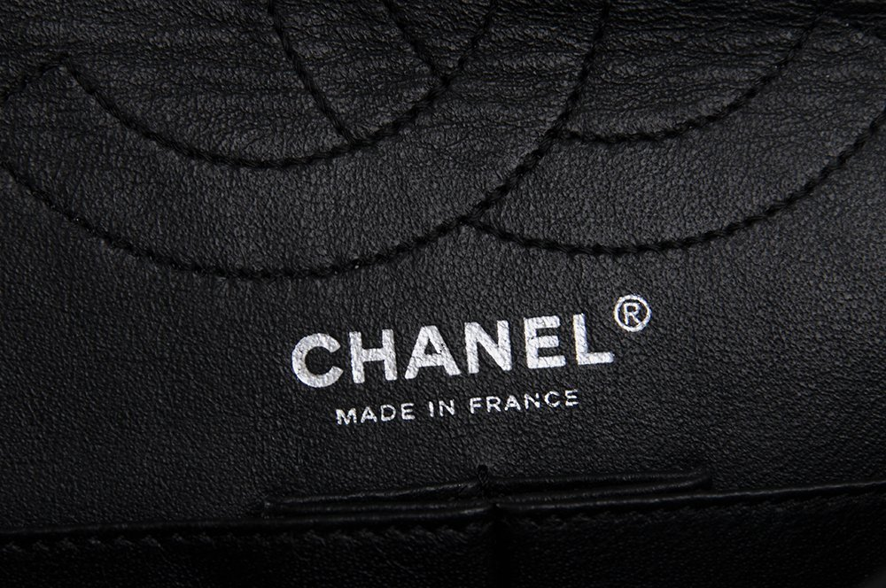 CHANEL BLACK QUILTED 2.55 REISSUE FLAP BAG - 4