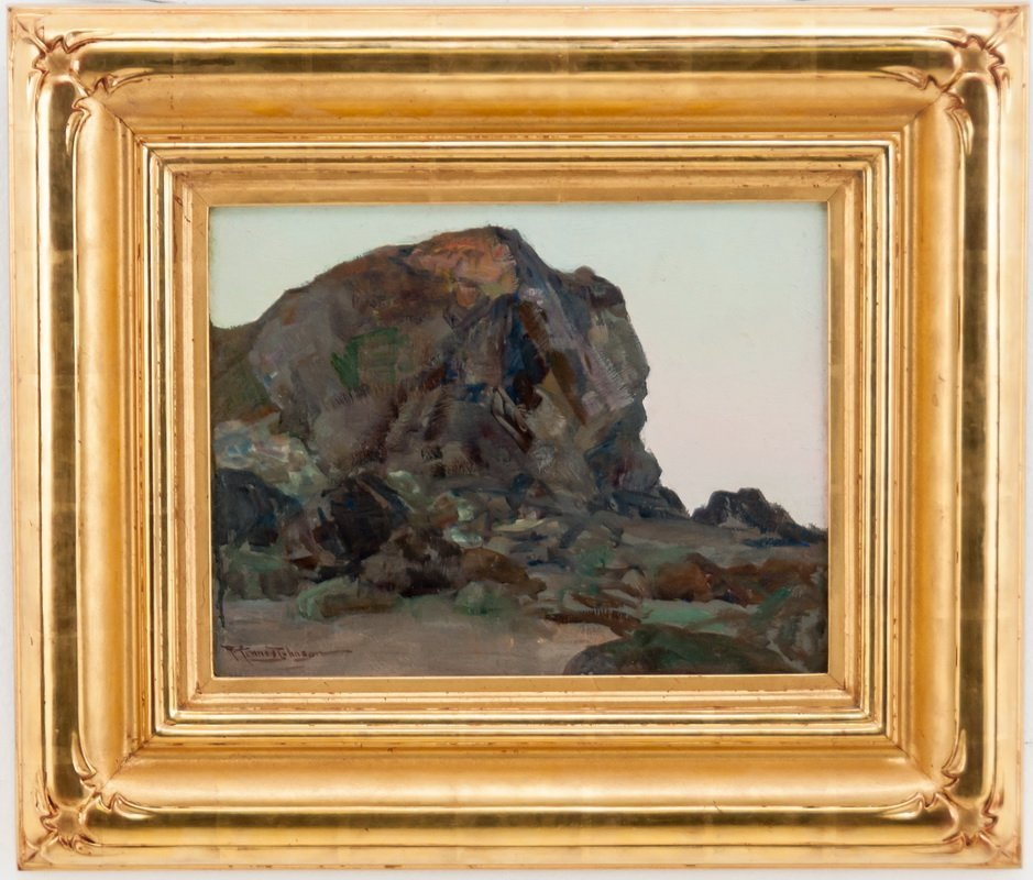 "FRANK TENNEY JOHNSON:  ""MOUNTAIN LANDSCAPE"""