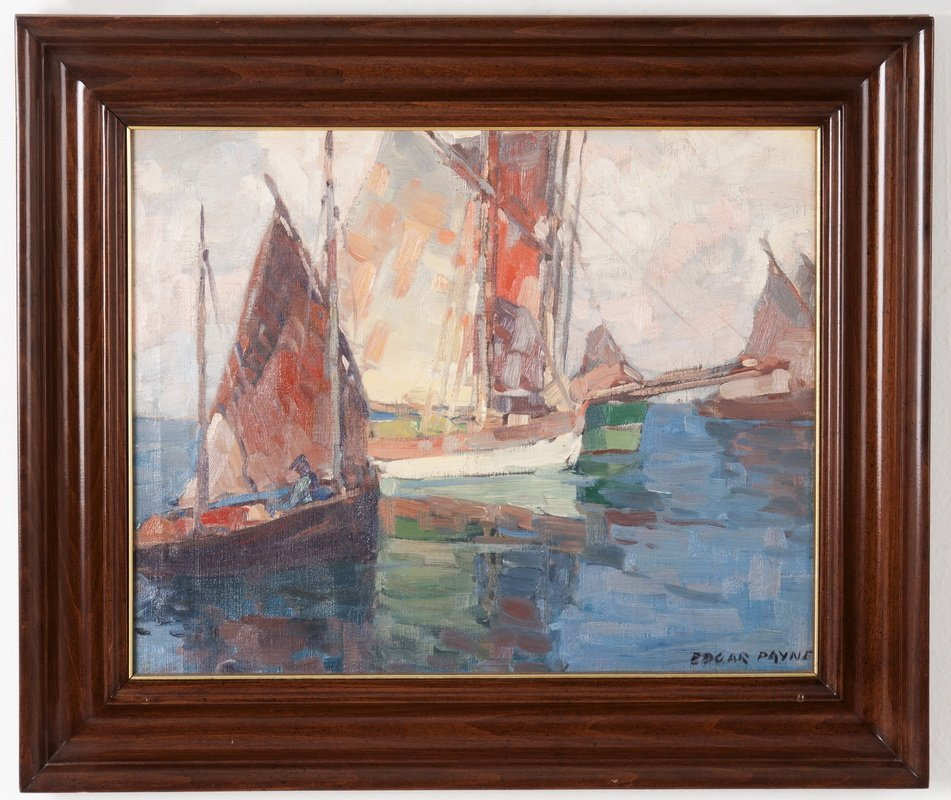 "EDGAR PAYNE: ""TUNA BOATS"""