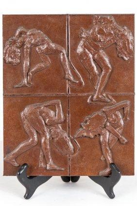 "Robert Graham: ""four Dancing Figures"""