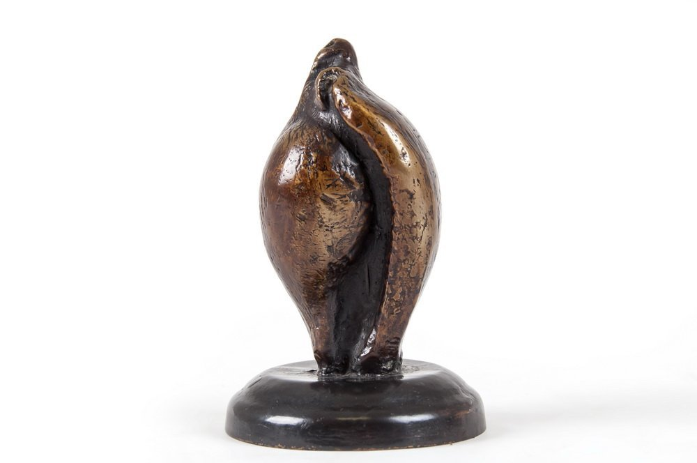 """HENRY MOORE: """"SMALL SHELL MOTHER & CHILD"""""""