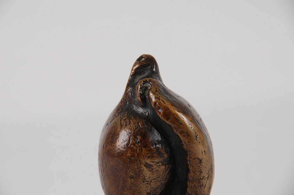 """HENRY MOORE: """"SMALL SHELL MOTHER & CHILD"""" - 7"""