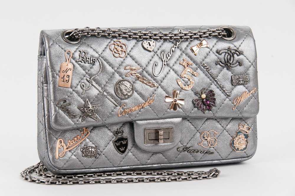 67cae42839a907 CHANEL LUCKY CHARMS REISSUE 2.55 DOUBLE FLAP BAG