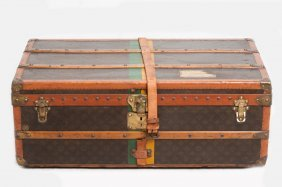 LOUIS VUITTON TRUNK FROM THE ESTATE OF CLARE BOOTH LUCE