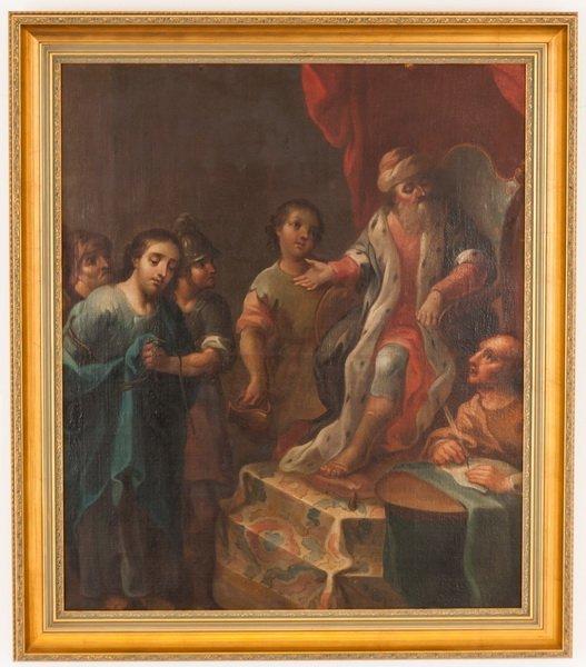 "AFTER ALESSANDRO MAGNASCO: ""CHRIST & PONTIUS PILATE"""