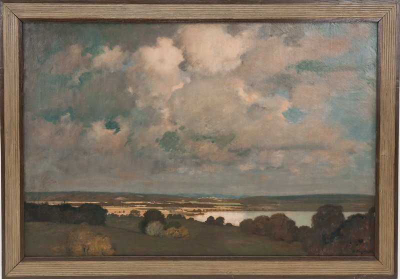 "ARTHUR HARRINGTON: ""COUNTRY LANDSCAPE, 1906-1908"""