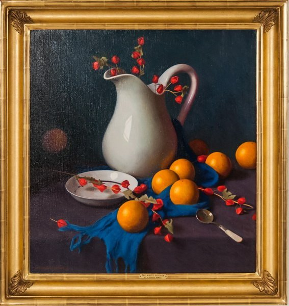 """W. CHARLES NOWELL: """"THE WHITE PITCHER"""""""