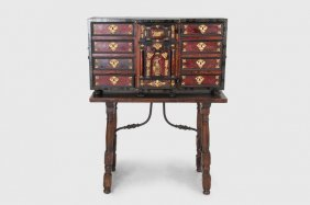 SPANISH INLAID VARGUENO ON STAND
