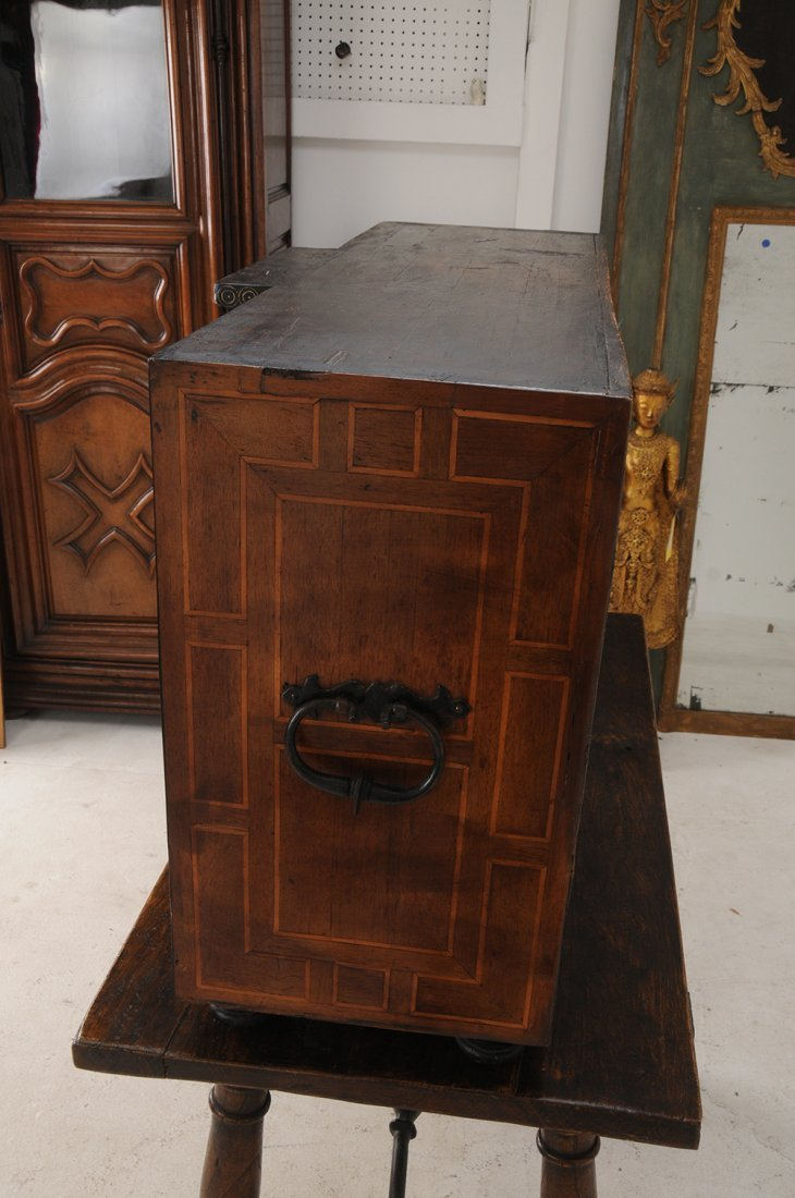 SPANISH INLAID VARGUENO ON STAND - 5
