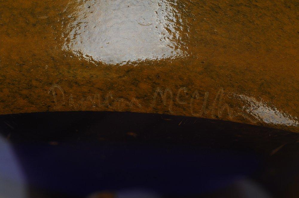 DUNCAN MCCLENNAN: ETCHED GLASS BOWL - 3