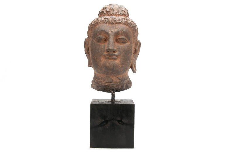 GANDAHARAN SCHIST BUDDHA