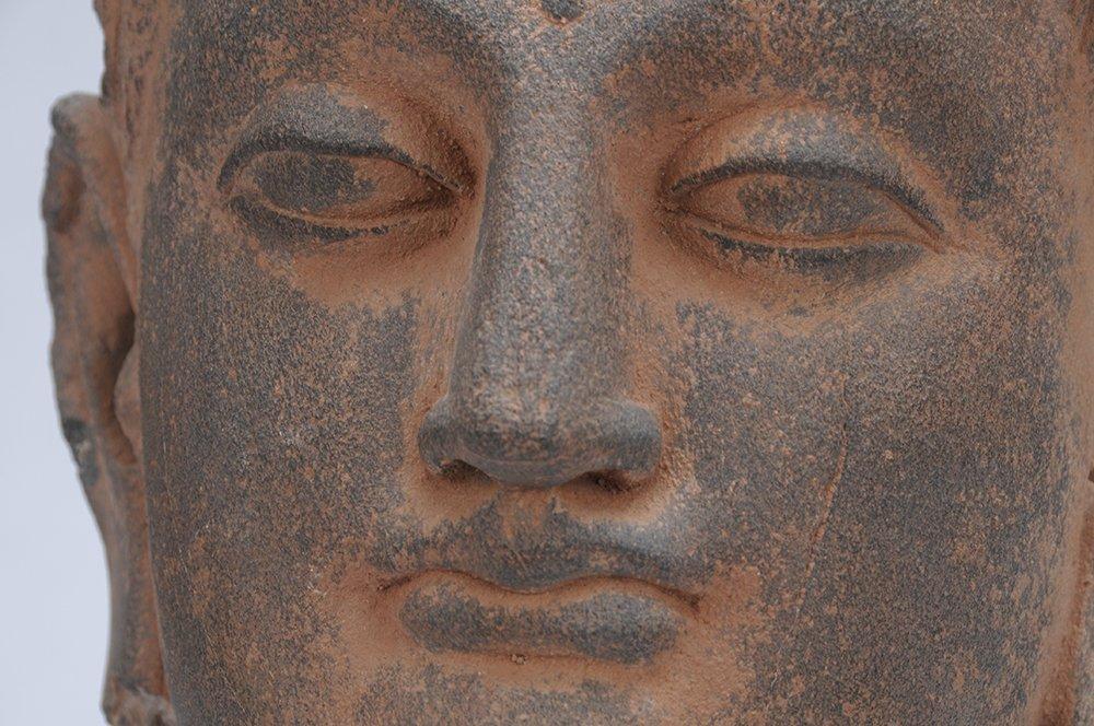 GANDAHARAN SCHIST BUDDHA - 5