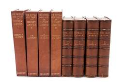 TWO SETS OF LEATHERBOUND BOOKS