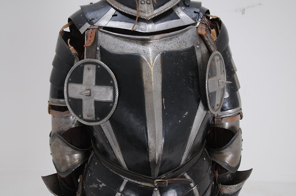 GERMAN STYLE THREE QUARTER SUIT OF ARMOR - 10