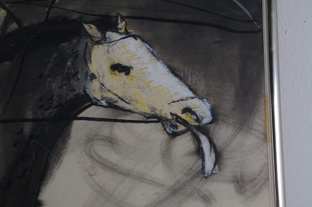 "FELIX ANGEL: ""HORSE, CYCLIST, AND COWBOY"" - 6"