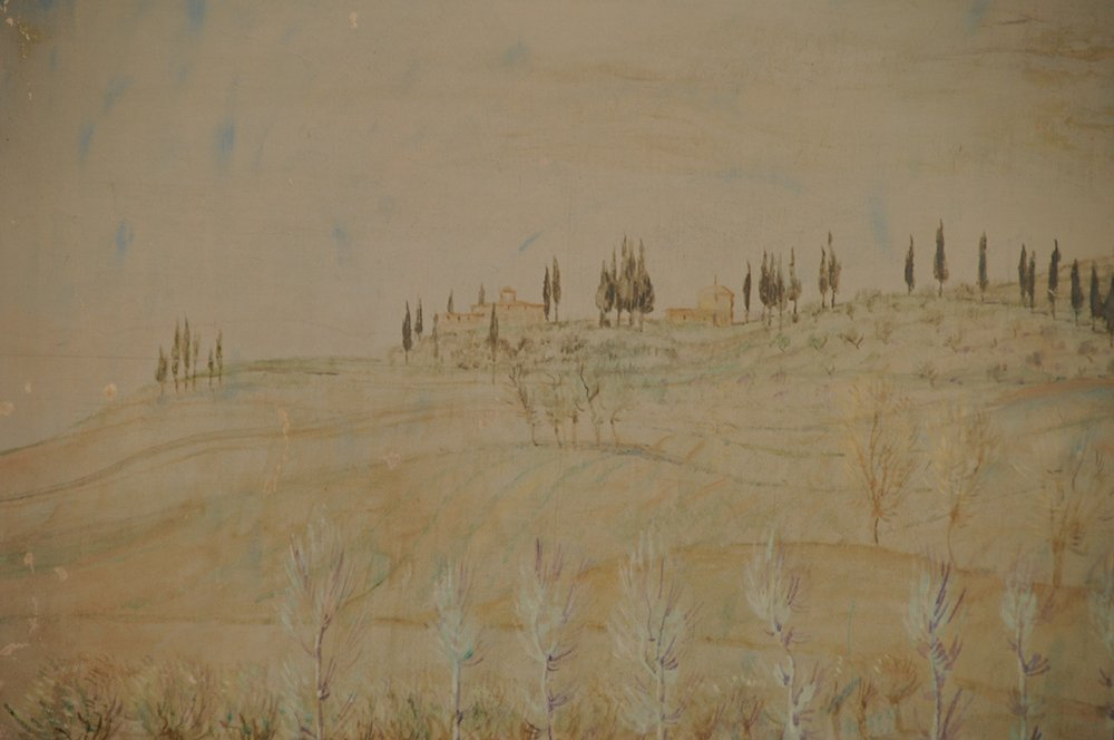 "LEONID BERMAN:  ""TUSCAN COUNTRYSIDE: ROWS OF VARIOUS - 8"