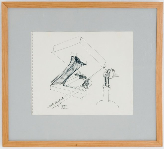 "MARK DI SUVERO: ""STUDY FOR A SCULPTURE"""