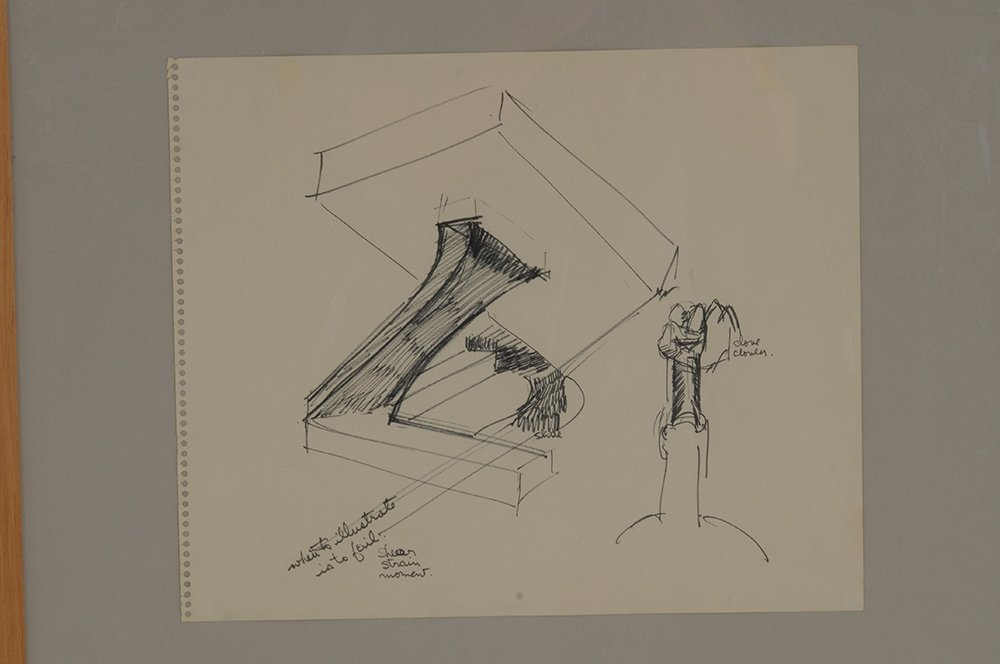 "MARK DI SUVERO: ""STUDY FOR A SCULPTURE"" - 8"