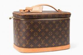 "LOUIS VUITTON MONOGRAM ""NICE"" COSMETIC CASE"