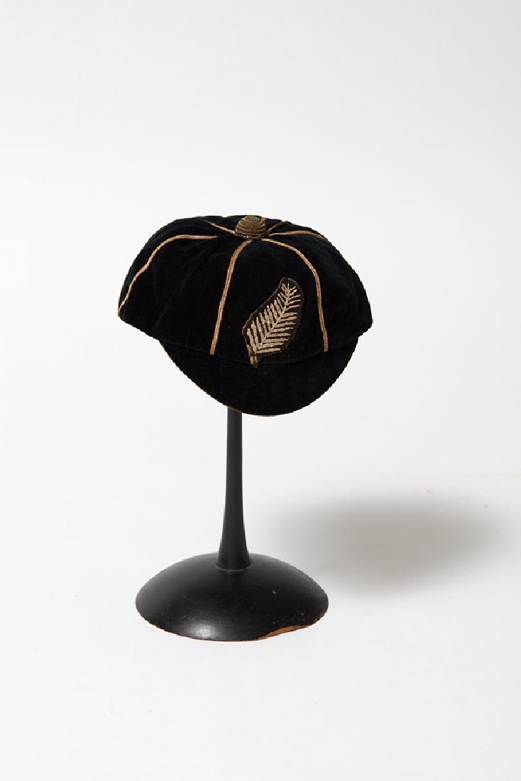WWI All Blacks Cap, Jersey Badge and Clipping