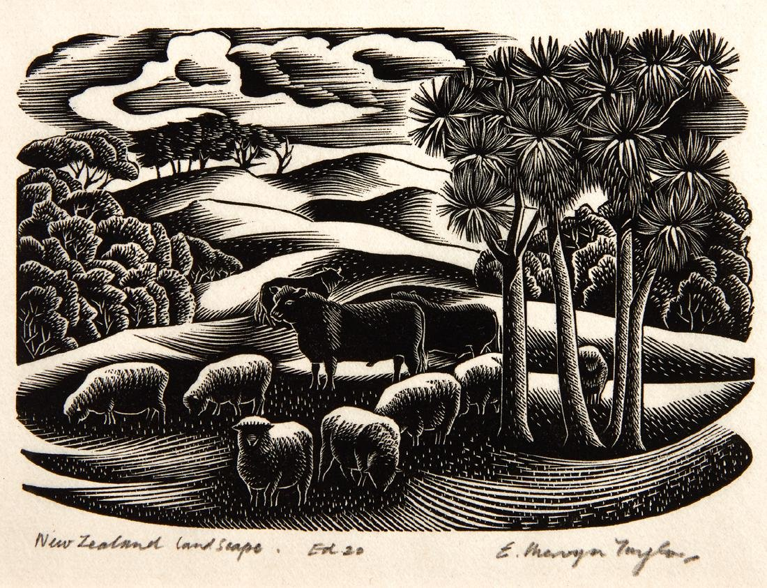 E. Mervyn Taylor (New Zealand, 1906-1964)