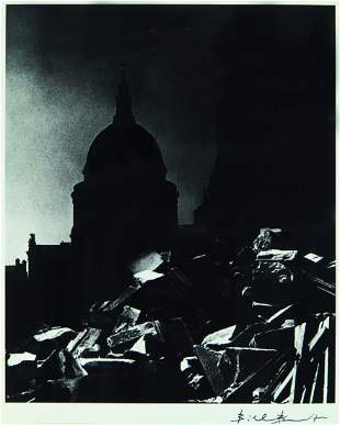 17: Bill Brandt, St Paul's Cathedral in Moonlight