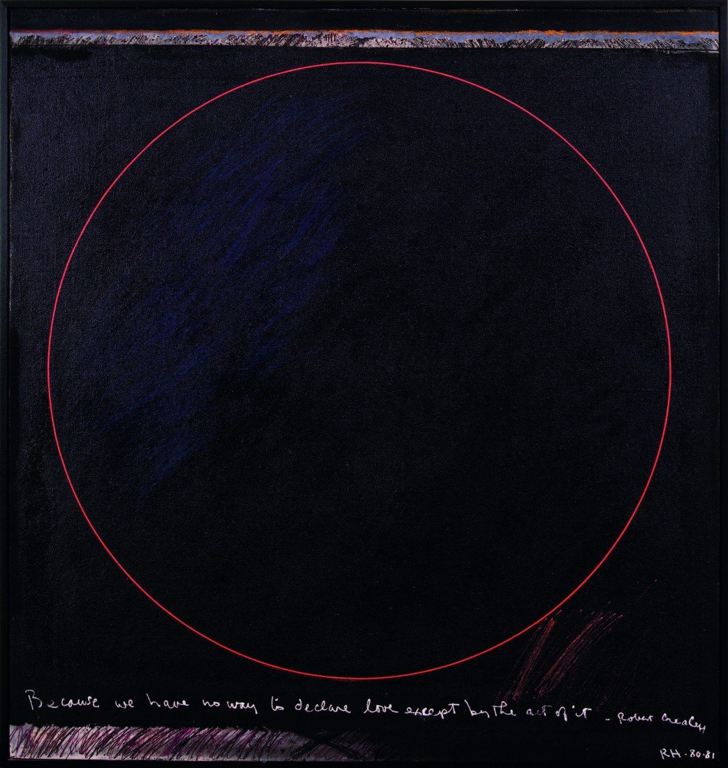 5: Ralph Hotere, Black Painting for Robert Crealey