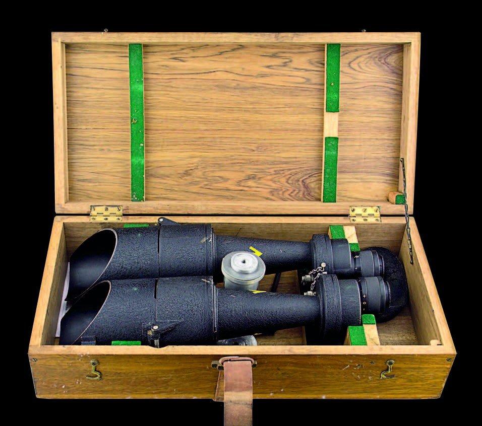 23: NZ Navy Ships 'Big Eye' binoculars