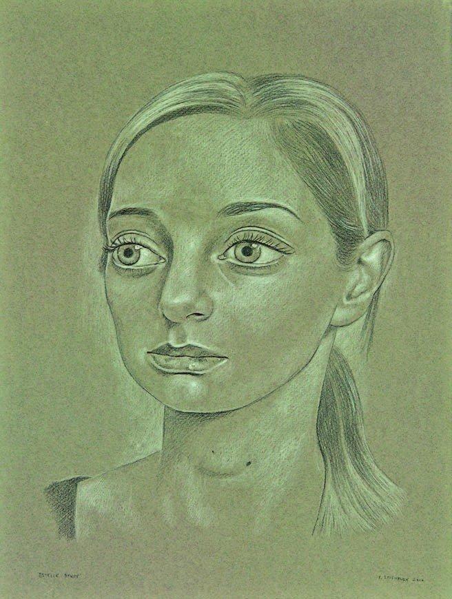 1: Peter Stichbury, 'Estelle' (Study)