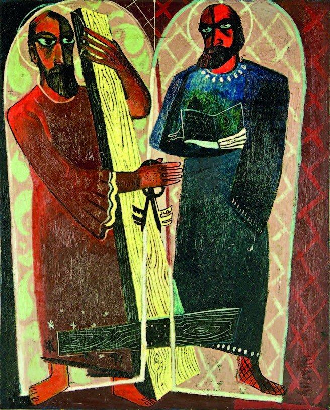 10: J. E Murphy, 'The Two Apostles'