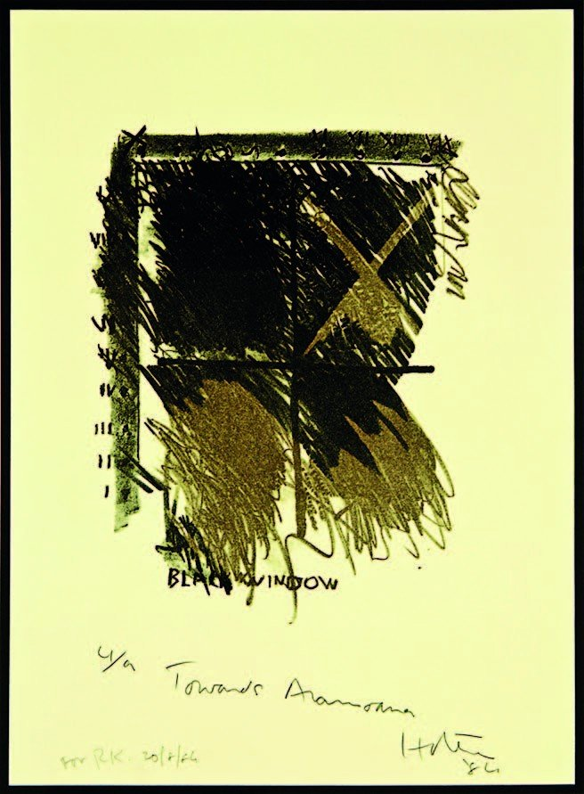 11: Ralph Hotere, 'Towards Aramoana: Black Window'