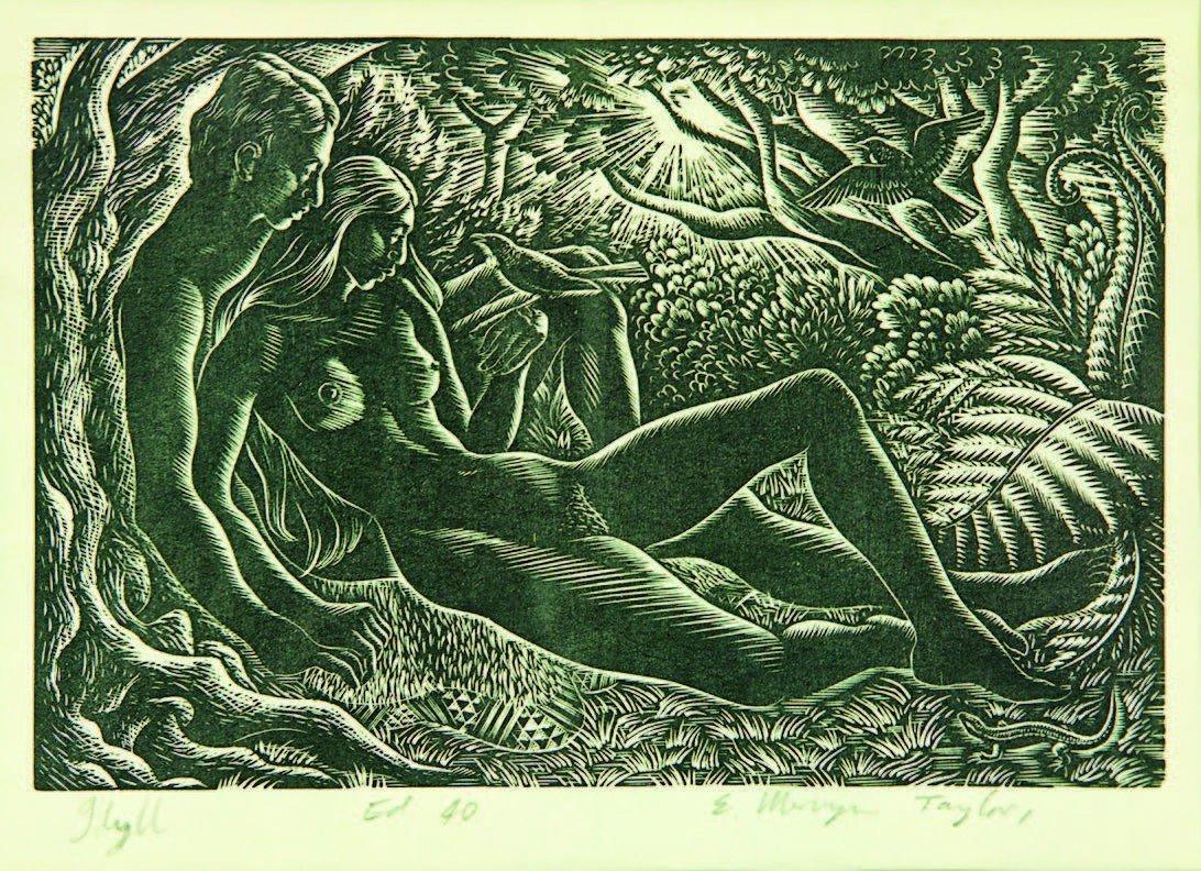 22: E. Mervyn Taylor, 'Idyll'