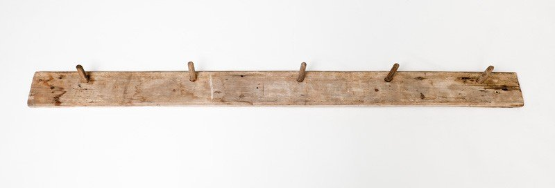 18: Early New Zealand colonial coat rack