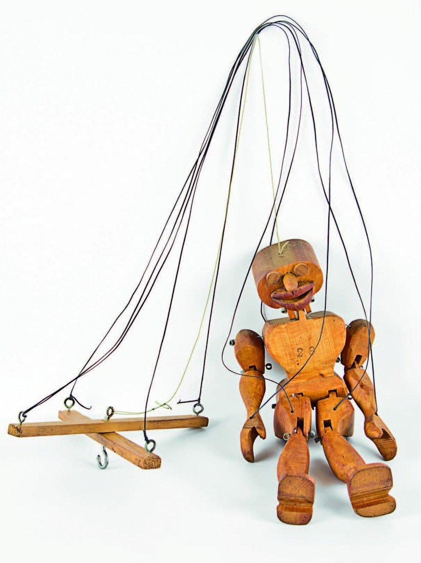 2: Bill Hammond, 'Marionette Puppet'