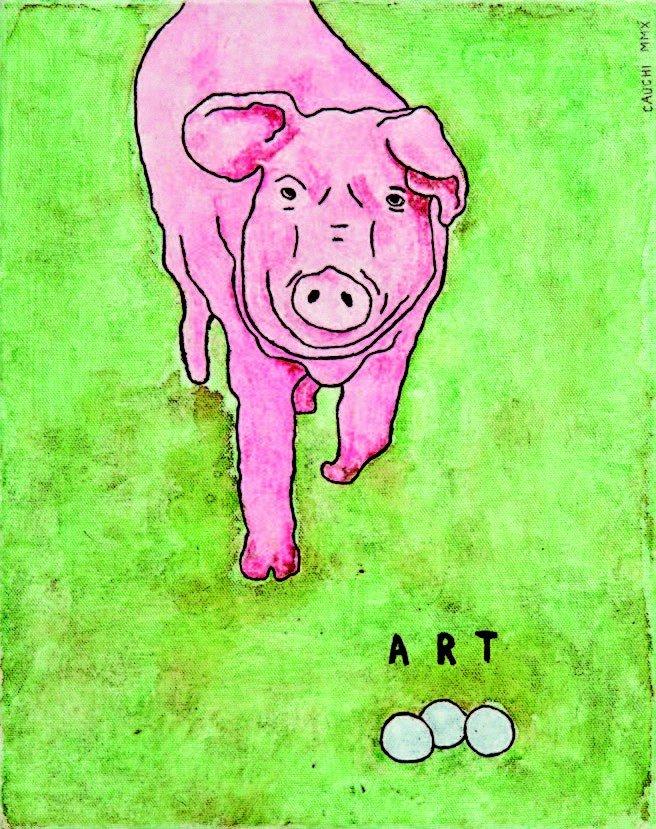 5: David Cauchi, 'Art'