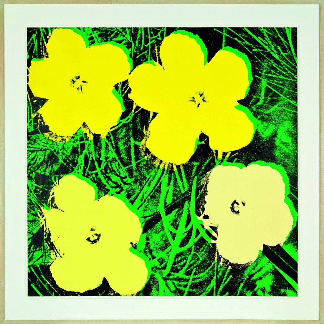 17: Andy Warhol, 'Flowers'