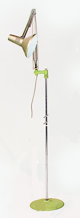 9: An industrial designed standard lamp