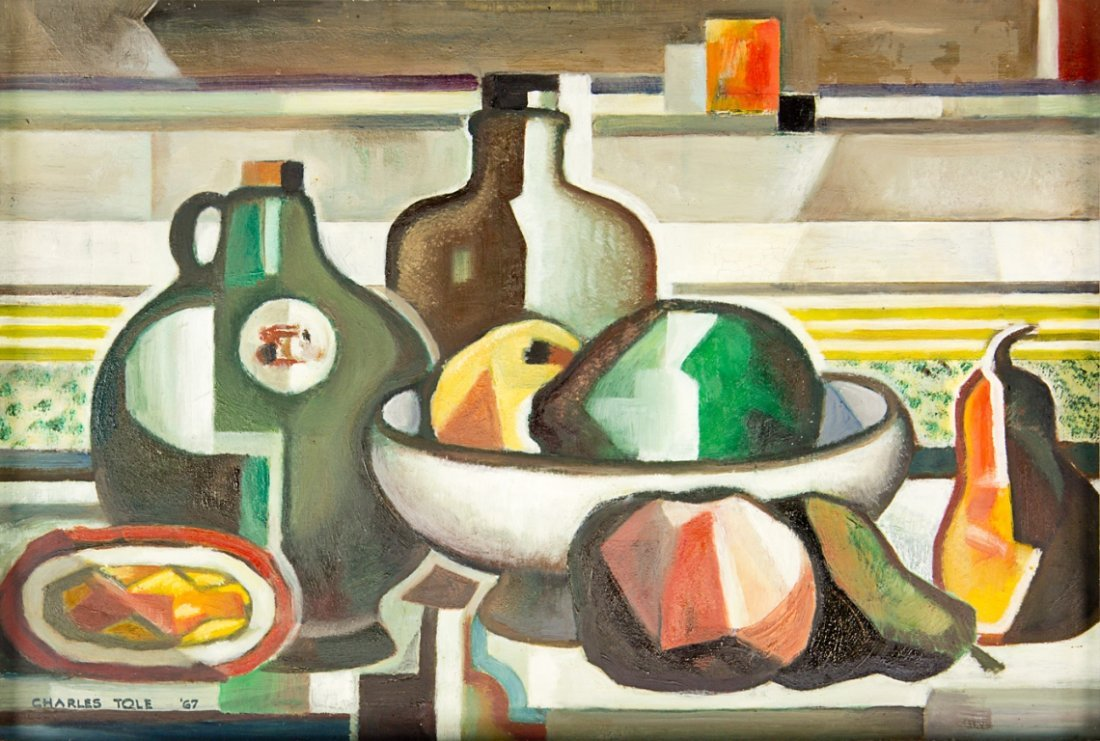 5: Charles Tole, Still Life with Bottles No. 3