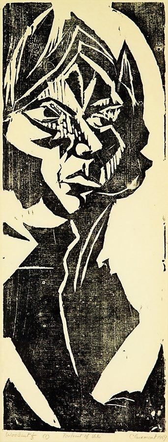 77: Philip Clairmont, Portrait of Vicki