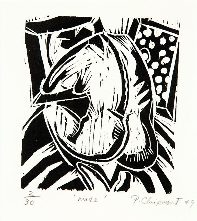78: Philip Clairmont, Nude