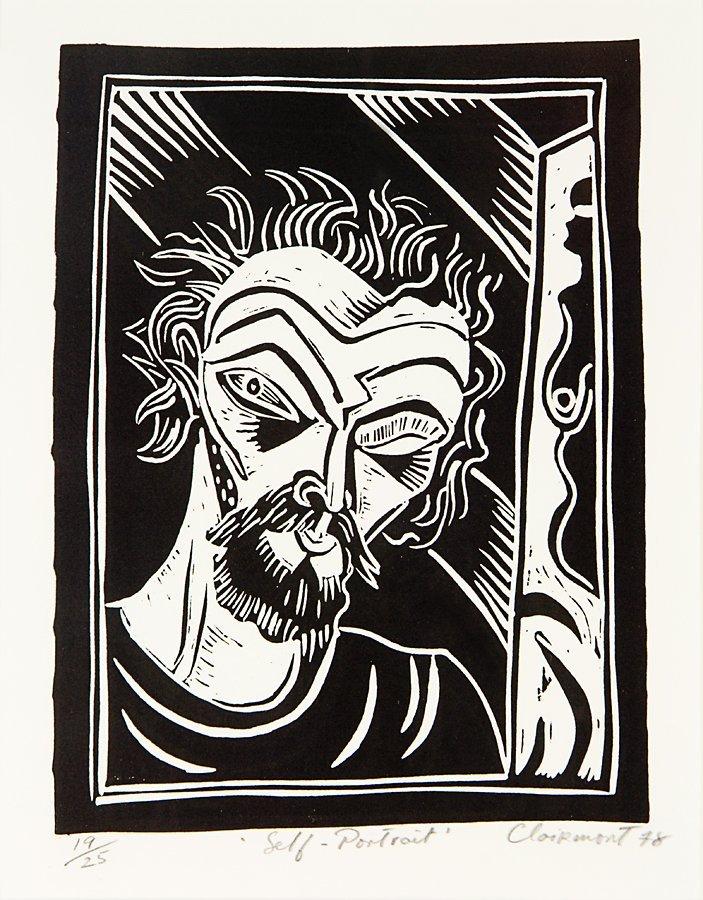 81: Philip Clairmont, Self Portrait