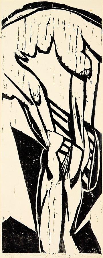 82: Philip Clairmont, Female Figure