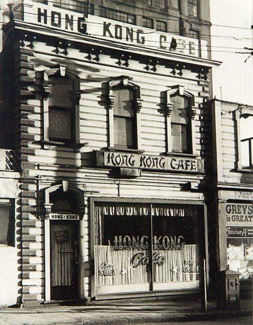 91: Les Cleveland, Hong Kong Cafe, Taranaki Street